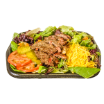 The Station Burger Salad
